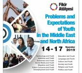 "Announcement for Youth Summit in Sakarya/Istanbul 2019 ""Fikir Atölyesi: Problems and Expectations of Youth in the Middle East and North Africa"" with the support of YTB. Event dates: November 14-17. to apply:"